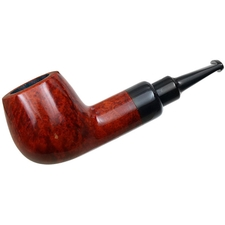 Misc. Estates Rattray's Chubby Jackey Smooth Pot with Horn (9mm) (Unsmoked)