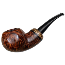 Misc. Estates Grechukhin Smooth Bent Apple with Red Palm (2014) (Unsmoked)