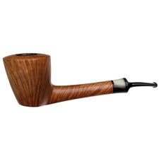 Misc. Estates Peter Matzhold Smooth Bent Dublin Sitter with Horn (2F)
