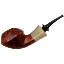 Misc. Estates Michail Kyriazanos Smooth Asymmetric Bent Bulldog with Horn