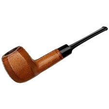 American Estates Pipes by Lee Leather Wrapped Paneled Billiard