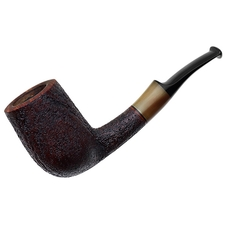 American Estates Andrew Staples Sandblasted Bent Billiard with Horn (2013)