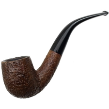 American Estates The Pipe Rack Sandblasted Bent Billiard
