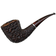 American Estates Larry Roush Rusticated Paneled Bent Dublin with Silver (6) (659) (2003)