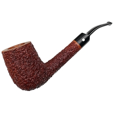 American Estates David Jones Rusticated Bent Billiard (XL) (2002) (Unsmoked)