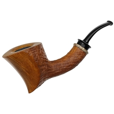 American Estates Chheda Partially Sandblasted Bent Dublin (7) (154) (2013) (Unsmoked)