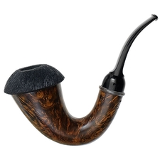American Estates Briarworks Signature Smooth Calabash with Rusticated Cap (Unsmoked)