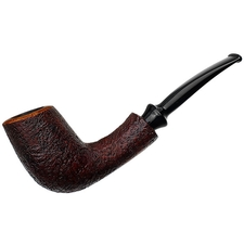American Estates Buckeye Sandblasted Bent Billiard (2016)