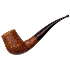 American Estates Scottie Piersel Sandblasted Bent Billiard (Unsmoked)