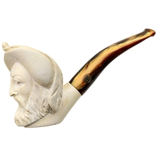 Turkish Estates CAO Meerschaum Man with Glaring Eyes