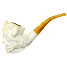 Turkish Estates Unknown Meerschaum Viking (with Case)