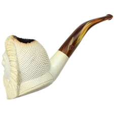 Turkish Estates CAO/Bekler Meerschaum Laughing Man (with Case)