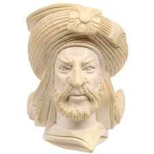 Turkish Estates CAO Meerschaum Man with Turban (with Case)