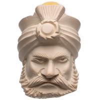 Turkish Estates Unknown Meerschaum Bearded Man (Unsmoked)