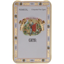 Romeo y Julieta 1875 Romeos Tin of 6 Cigars