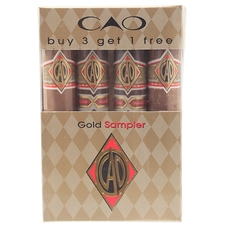 CAO CAO Gold Sampler pack