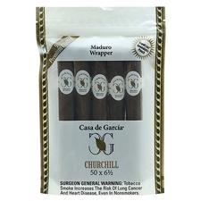 Casa de Garcia Maduro Wrapper Churchill 5-Pack