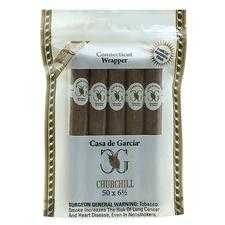 Casa de Garcia Connecticut Wrapper Churchill 5-Pack